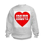 GR8LUVR Kids Sweatshirt