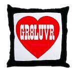 GR8LUVR Throw Pillow