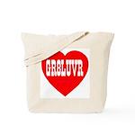 GR8LUVR Tote Bag