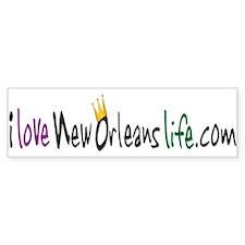 New Orleans Life Bumper Bumper Sticker
