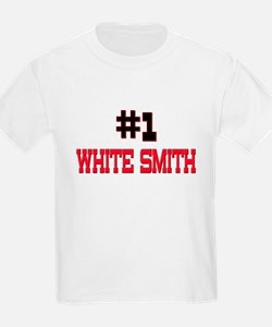 Number 1 WHITE SMITH T-Shirt