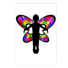 Autistic Butterfly Postcards (Package of 8)