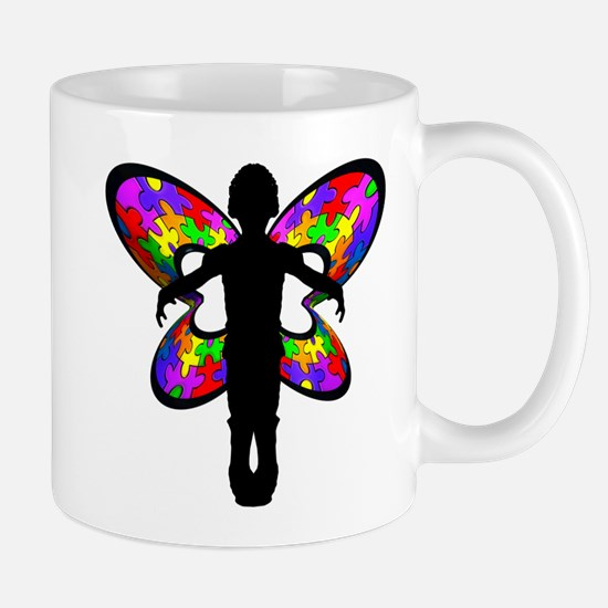 Autistic Butterfly Mug