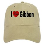 I Love Gibbon Cap