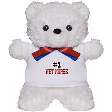 Number 1 WET NURSE Teddy Bear