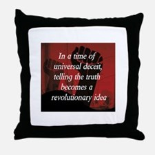 Unique Politics Throw Pillow