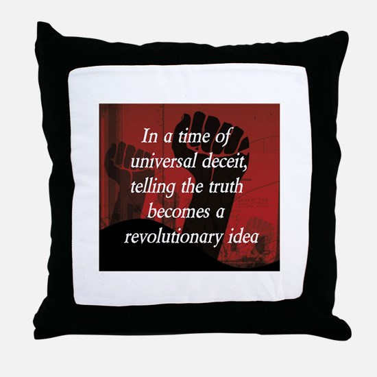 Cute Politics Throw Pillow