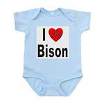 I Love Bison Infant Creeper