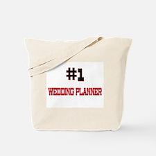 Number 1 WEDDING PLANNER Tote Bag