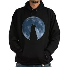 Cat with Moon Hoodie