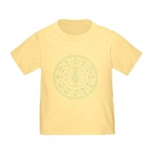 Yellow Circle of Fifths T