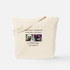 Misunderstood and Radical - C Tote Bag
