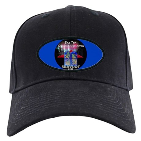 Shavuot Ten Laws Black Cap