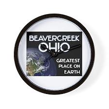 beavercreek ohio - greatest place on earth Wall Cl