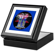 Shavuot Ten Laws Keepsake Box