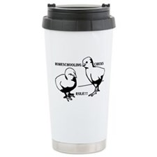 Homeschool Chicks Rule! Travel Mug