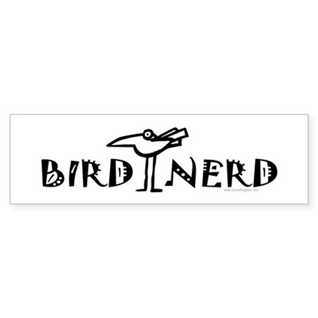 Birding, Ornithology Sticker (Bumper)