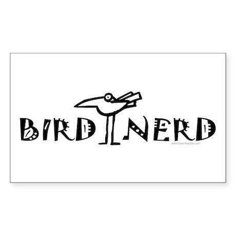Birding, Ornithology Sticker (Rectangle)