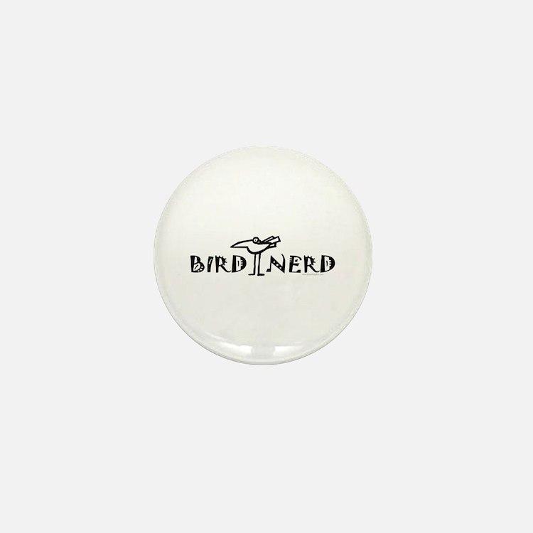 Birding, Ornithology Mini Button