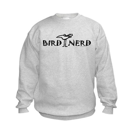 Birding, Ornithology Kids Sweatshirt