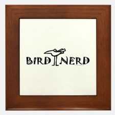 Birding, Ornithology Framed Tile