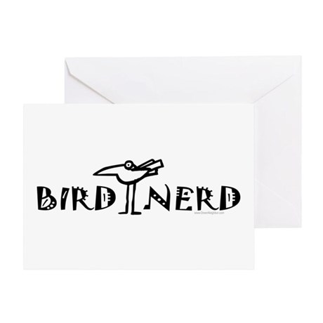Birding, Ornithology Greeting Card