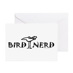 Birding, Ornithology Greeting Cards (Pk of 20)