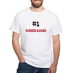 Number 1 WARDROBE MANAGER White T-Shirt