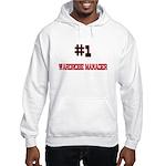 Number 1 WARDROBE MANAGER Hooded Sweatshirt