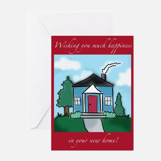 """Wishing You Happiness"" New Home Greetin"