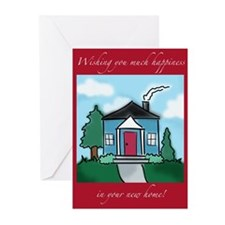 """""""Wishing You Happiness"""" New Home Cards ("""