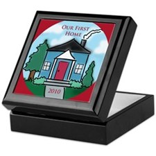 """Our First Home"" 2010 Keepsake Box"