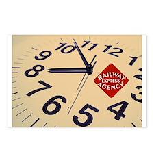 Railway Express Clock Postcards (8)
