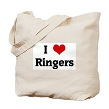 I Love Ringers Tote Bag