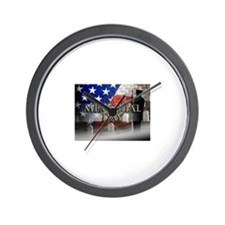 Memorial Day Wall Clock