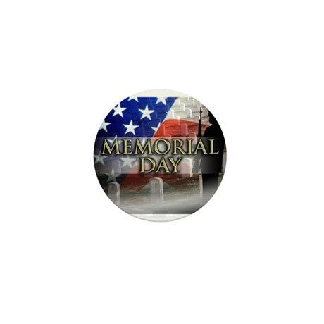 Memorial Day Mini Button (10 pack)