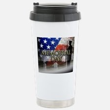 Memorial Day Stainless Steel Travel Mug