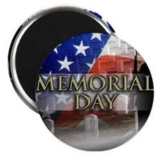 """Memorial Day 2.25"""" Magnet (100 pack)"""