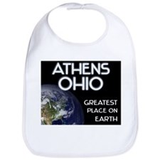 athens ohio - greatest place on earth Bib