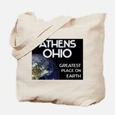 athens ohio - greatest place on earth Tote Bag
