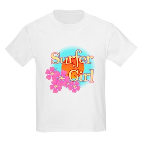 Surfer Girl Kids Light T-Shirt