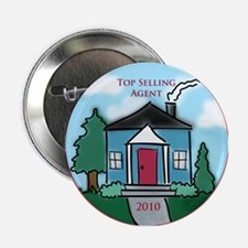 """""""Top Selling Agent - 2010"""" 2.25"""" Button"""