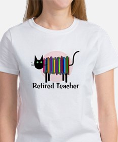 Retired Teacher Book Ca T-Shirt