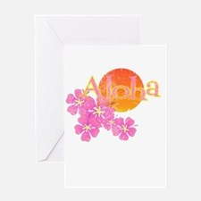 Unique Hula Greeting Card