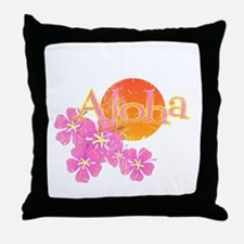Cute Hula girls Throw Pillow
