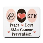 Peace Love SPF Mousepad