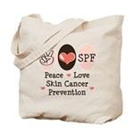 Peace Love SPF Tote Bag
