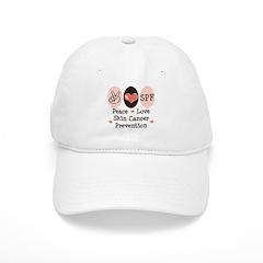 Peace Love SPF Baseball Cap