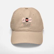 Peace Love SPF Baseball Baseball Cap