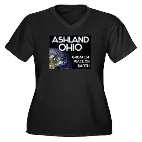 ashland ohio - greatest place on earth Women's Plu